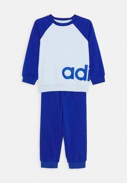 adidas Performance - ESSENTIALS SPORTS SET UNISEX - Verryttelypuku - sky tint/team royal blue