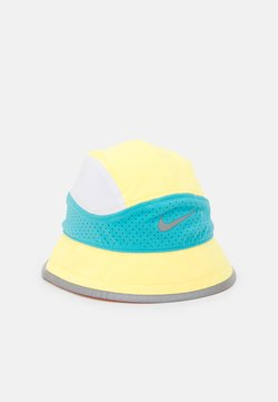 Nike Performance - BUCKET UNISEX - Sombrero - citron pulse/chlorine blue/white