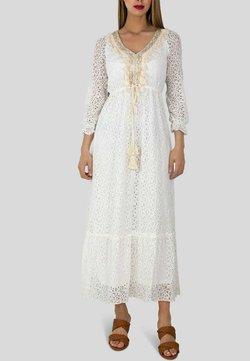 Kebello - Robe longue - blanc