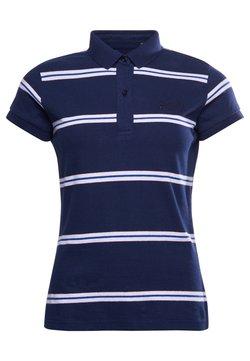 Superdry - Poloshirt - varsity navy stripe