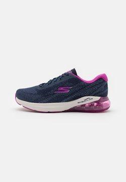 Skechers Performance - GO RUN AIR - Zapatillas de running neutras - navy/pink