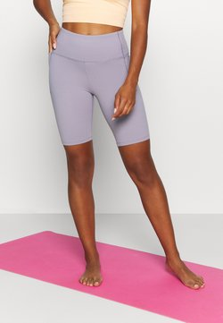 Under Armour - MERIDIAN BIKE SHORTS - Tights - slate purple