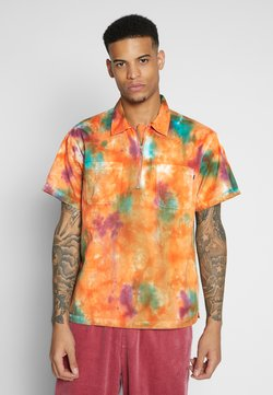 Obey Clothing - DROPS WOVEN - Shirt - orange multi