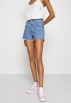 Levi's® - 501® ORIGINAL - Farkkushortsit - blue denim