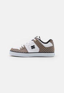 DC Shoes - PURE  - Skateschuh - black/white/brown