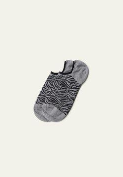Tezenis - Socken - grau - 8843 - grey zebra print