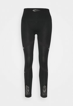 Smilodox - SEAMLESS EXITUM - Tights - schwarz