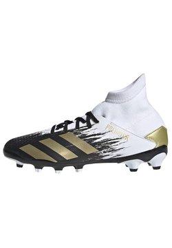 adidas Performance - PREDATOR 20.3 FOOTBALL BOOTS MULTI GROUND - Fußballschuh Nocken - ftwwht/goldmt/cblack