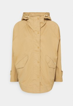 Marc O'Polo - CAPE FIX HOOD - Kurzmantel - sandy beach