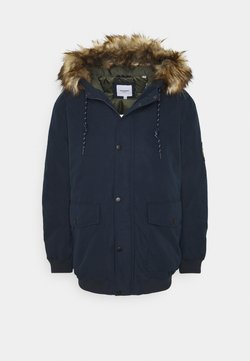 Jack & Jones - JJSKY JACKET - Parka - navy blazer