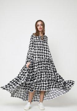 Madam-T - Anina - Maxikleid - weiß, schwarz