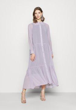 Monki - COLLINA DRESS - Vestido camisero - solid purple