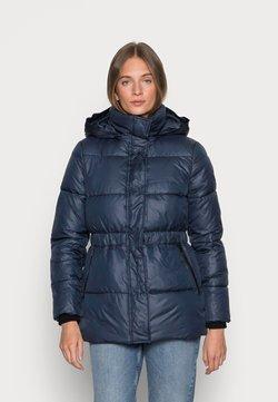 Calvin Klein - SORONAWAISTED JACKET - Winterjacke - calvin navy