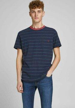 Jack & Jones PREMIUM - REGULAR FIT - T-Shirt print - peacoat