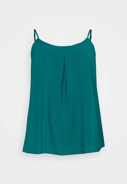 CAPSULE by Simply Be - STRAPPY CAMI - Bluse - dark green
