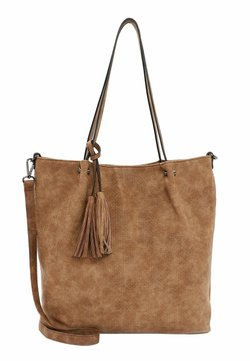 Emily & Noah - SURPRISE - Bolso shopping - cognac
