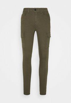Noisy May - NMLUCY UTILITY PANTS - Trousers - kalamata