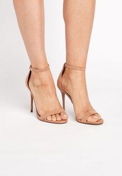 Next - BLACK EMMA WILLIS BARELY THERE SANDALS - High Heel Sandalette - beige