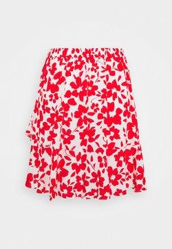 Forever New - GISELLE RUFFLE SKIRT - Minigonna - ruby silhouette