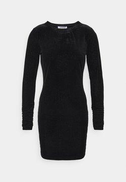 Glamorous - FRIDAY LONG SLEEVE DRESS - Etuikleid - black/silver