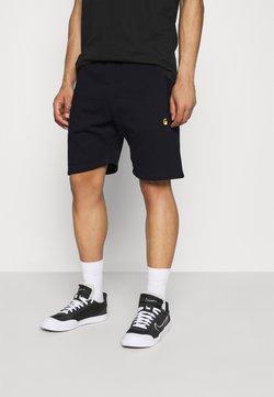 Carhartt WIP - CHASE  - Shorts - dark navy/gold