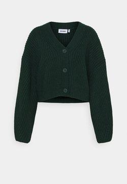 Weekday - ELI  - Neuletakki - dark green