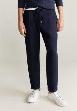Mango - OCTOPUS - Pantalones - dunkles marineblau