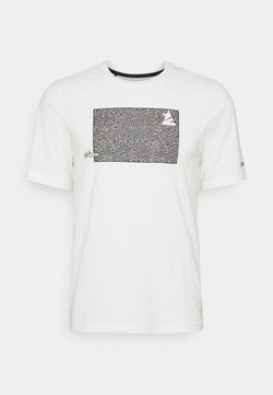 Zimtstern - SHININGZ TEE MENS - T-shirt print - white