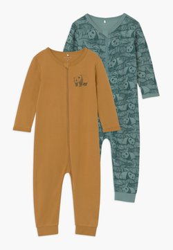 Name it - NBMNIGHTSUIT 2 PACK UNISEX - Pyjama - trellis