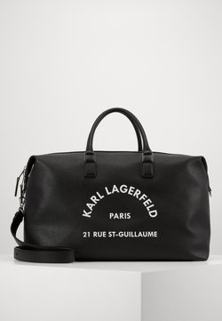 KARL LAGERFELD - RUE ST GUILLAUME - Torba weekendowa - black