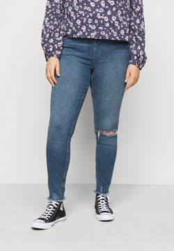New Look Curves - LIFT AND SHAPE - Jeans Skinny Fit - mid blue
