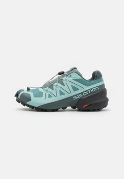 Salomon - SPEEDCROSS 5 - Zapatillas de trail running - trellis/stormy weather/phantom