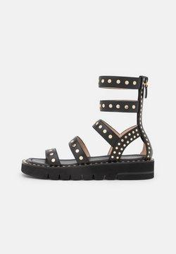 Stuart Weitzman - GALA LIFT STUDS  - Korkeakorkoiset sandaalit - black