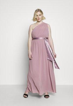 Dorothy Perkins Curve - SADIE SHOULDER DRESS - Ballkleid - dark rose