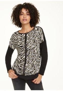 comma casual identity - Langarmshirt - khaki zebra and flower
