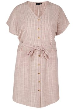 Zizzi - Vestido camisero - dry rose stripe