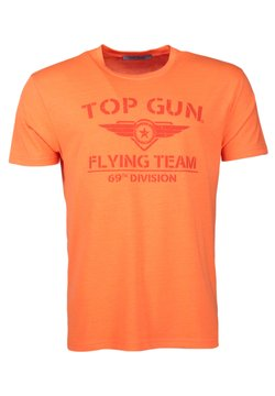TOP GUN - T-shirt print - orange