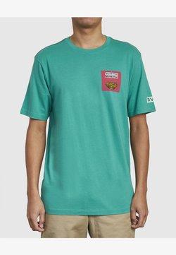 RVCA - HOT FUDGE TAQUERIA - T-shirt imprimé - vintage green