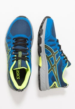 ASICS - GEL-VENTURE 7 - Trail hardloopschoenen - black/safety yellow