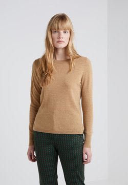 J.CREW - LAYLA CREW - Strickpullover - heather camel