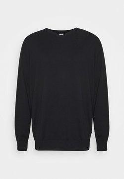 Jack & Jones - JJEBASIC V NECK - Pullover - black