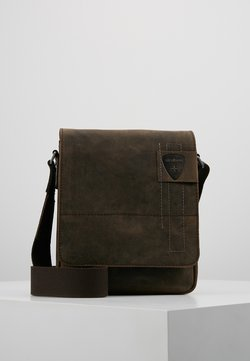 Strellson - RICHMOND SHOULDERBAG - Umhängetasche - dark brown