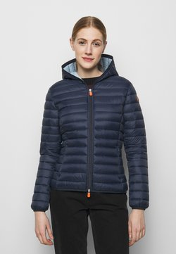 Save the duck - DAISY HOODED JACKET - Winterjacke - navy blue