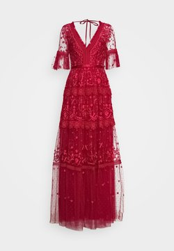 Needle & Thread - MIDSUMMER GOWN EXCLUSIVE - Gallakjole - deep red