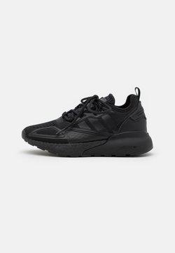 adidas Originals - ZX 2K BOOST UNISEX - Sneaker low - core black/shock pink