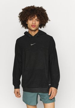 Nike Performance - Kapuzenpullover - black/dark smoke grey/iron grey