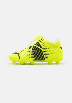Puma - FUTURE Z 3.1 FG/AG JR UNISEX - Chaussures de foot à crampons - yellow alert/black/white
