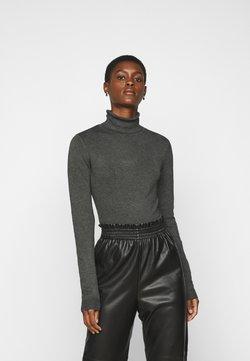 Vero Moda Tall - VMGLORY ROLLNECK - Trui - dark grey