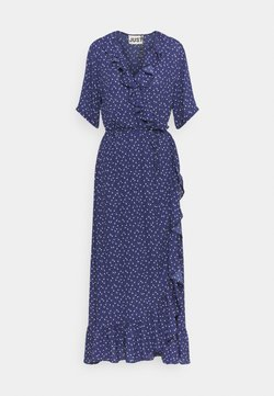 JUST FEMALE - DAISY MAXI WRAP DRESS - Maxikleid - patriot blue