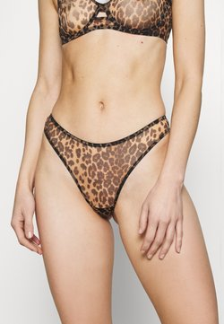 Agent Provocateur - LUCKY BRAZILIAN THONG - String - brown